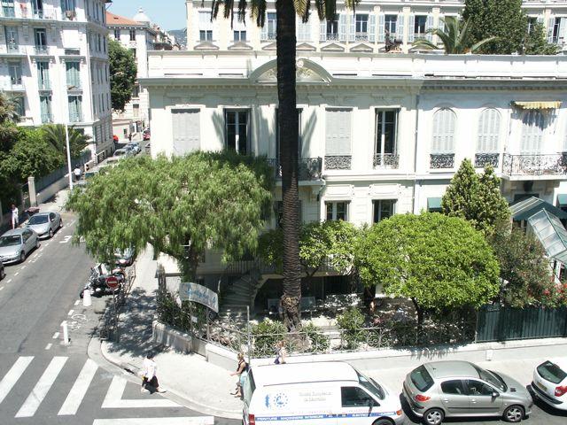 Pobřeží v Nice