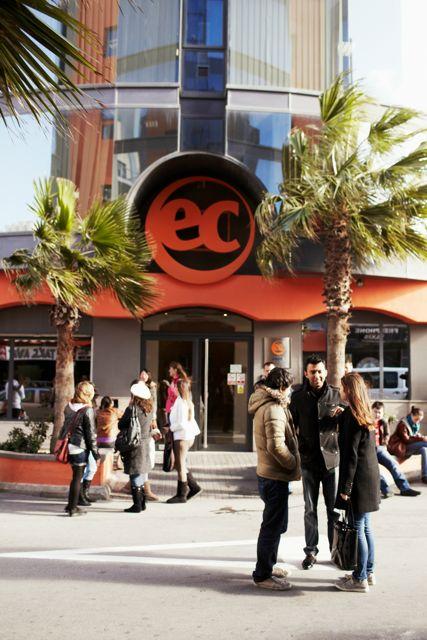 Škola angličtiny EC Malta, budova školy