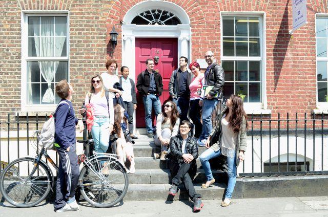 Škola angličtiny Limerick Language Centre, třída