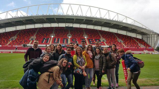 Domy hostitelských rodin v Limericku