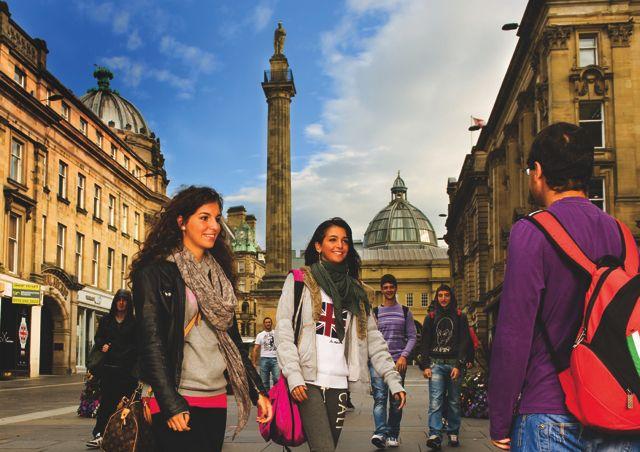 Studenti ve městě