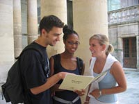 Škola francouzštiny Institut Linguistique Adenet, Montpellier, studenti školy