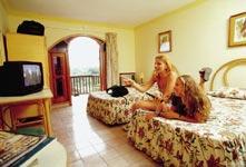 Škola španělštiny Sprachcaffe Kuba, vybavení apartmánů