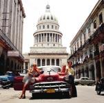 Škola španělštiny Sprachcaffe Kuba, studenti na ulici v Havaně