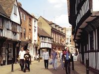 Ulice ve Worcesteru
