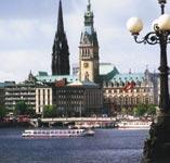 Pohled na Hamburk