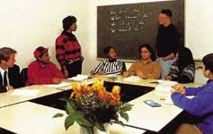 Škola němčiny Colón - German Language Center, výuka