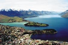 Pohled na Queenstown, Nový Zéland