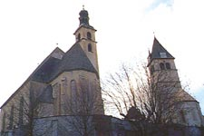 Kostel v Kitzbühelu