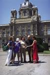 Škola němčiny Actilingua Vídeň, studenti školy na výletě po Vídni