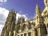 Gotický chrám York Minster