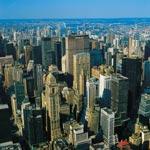 Pohled na Manhattan, New York