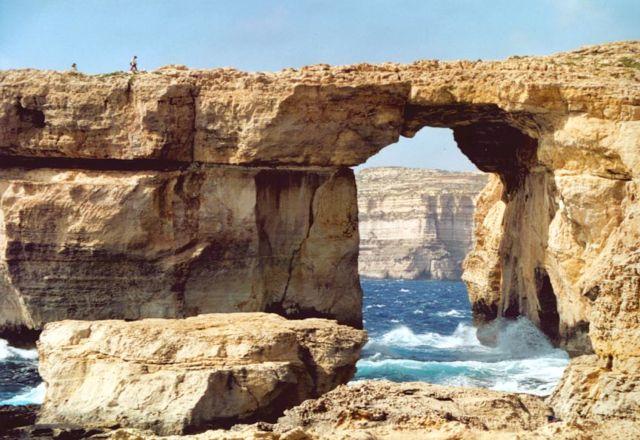 Azur Window, Gozo