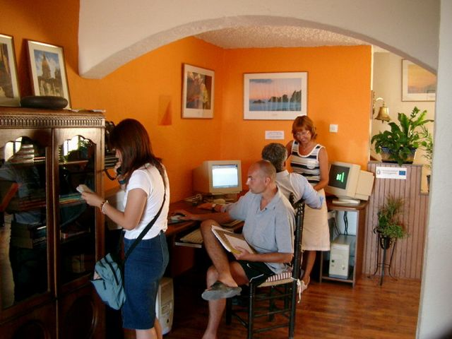 Počítačová učebna školy BELS Gozo