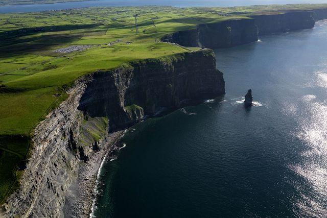 Příroda nedaleko Galway