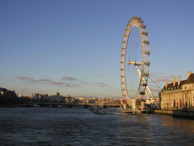 London Eye v Londýně