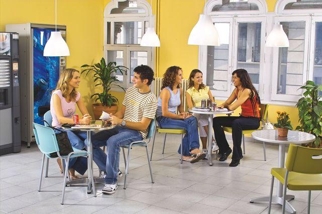 Studenti školy Sprachcaffe Barcelona