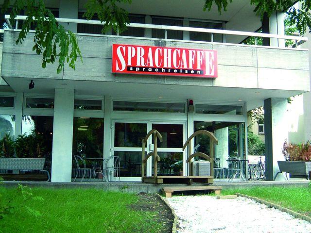 Budova školy Sprachcaffe Frankfurt