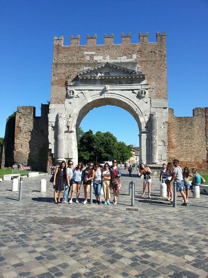 Rimini - Augustinuv oblouk