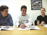 Škola angličtiny ACET (CLCI), studenti školy při výuce