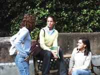Škola angličtiny ACET (CLCI), studentky školy