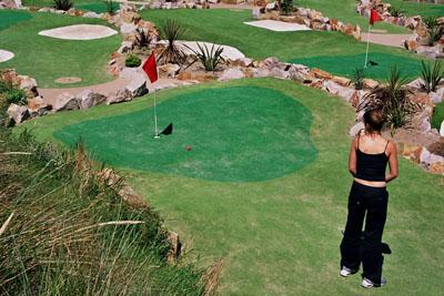 studenti na golfu