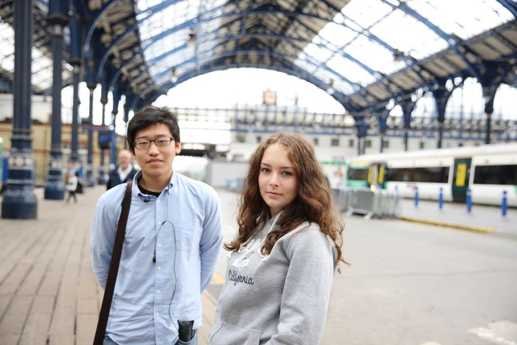 Studenti na výletě