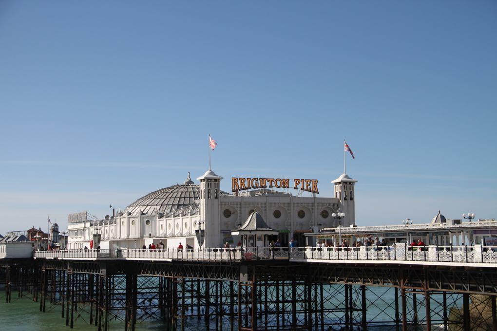 Molo v Brightonu