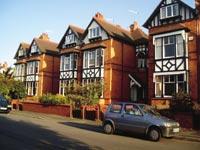 Domy hostitelských rodin ve Worcesteru