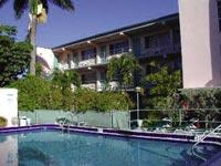Škola angličtiny TLA, Fort Lauderdale, budova s apartmány