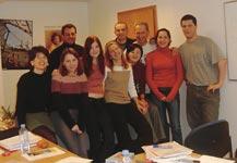 Škola němčiny BWS Germanlingua, třída