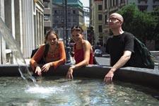 Škola němčiny Actilingua Vídeň, studenti školy na výletě