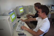Škola němčiny Actilingua Vídeň, počítačová učebna
