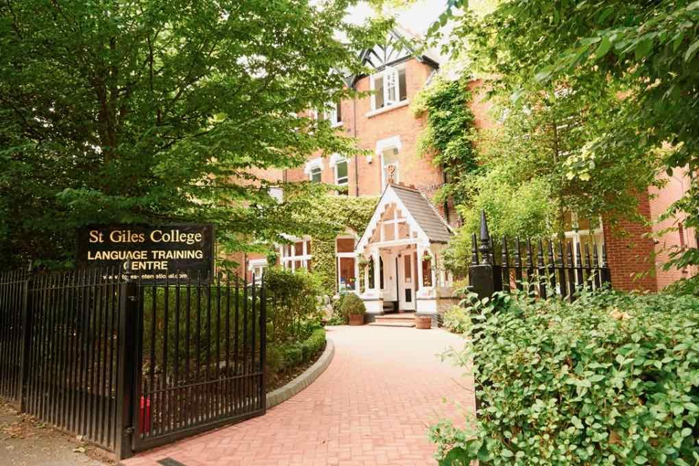 Budova školy St. Giles Londýn Highgate