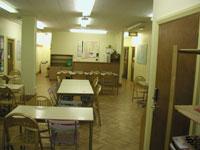 Škola angličtiny Milner School of English Londýn, kantýna školy